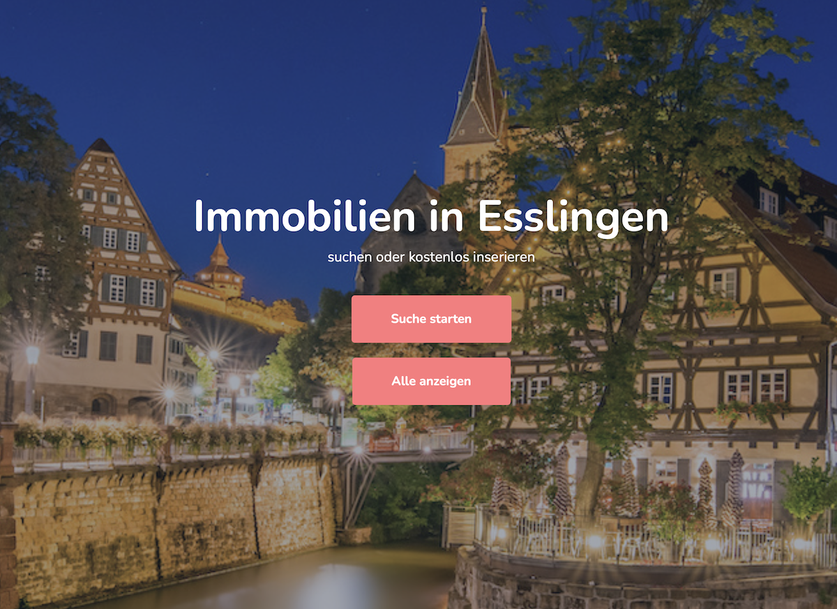 Immobiliensuche in Esslingen