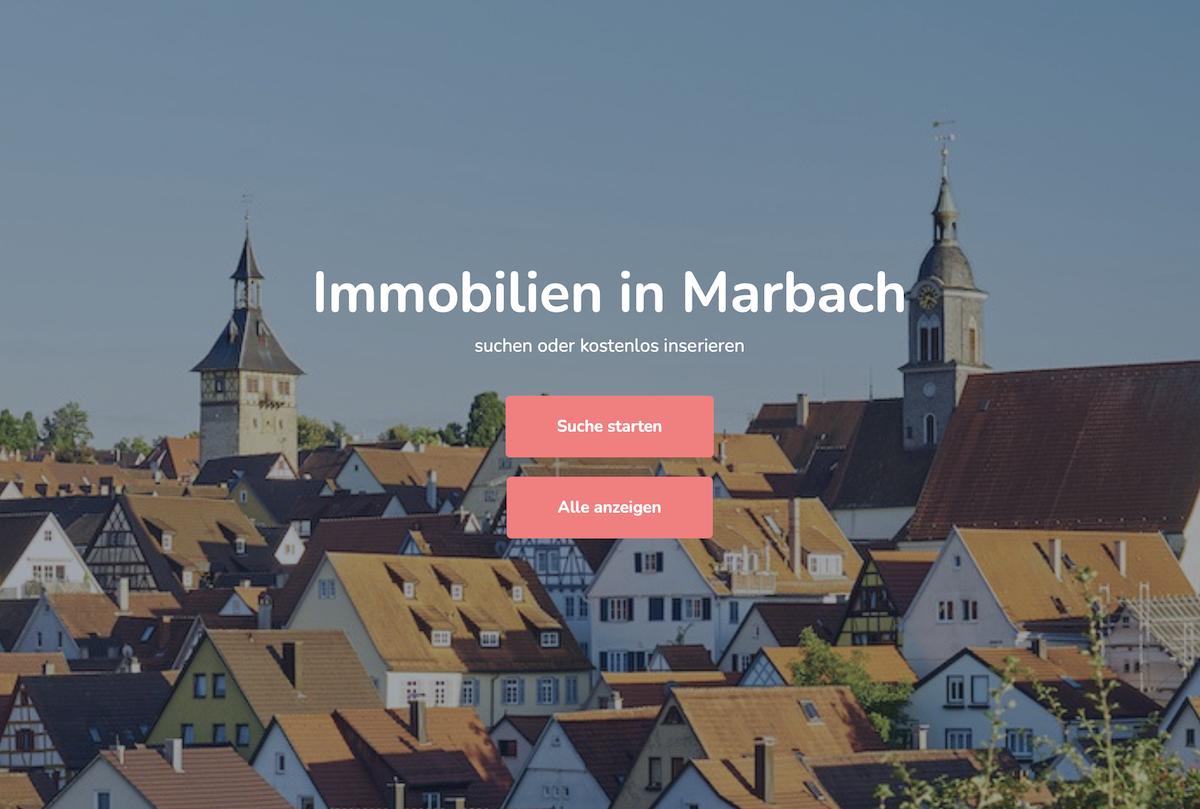 Immobiliensuche in Marbach