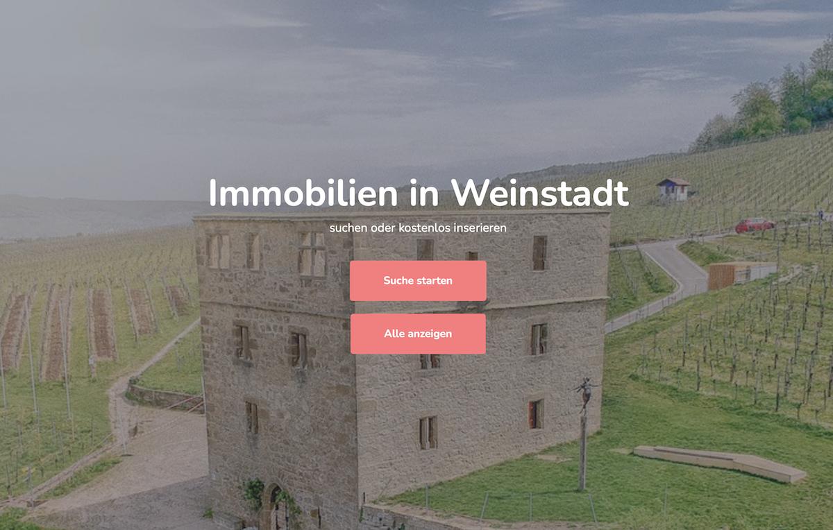 Immobiliensuche in Weinstadt